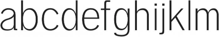 Deron Light otf (300) Font LOWERCASE