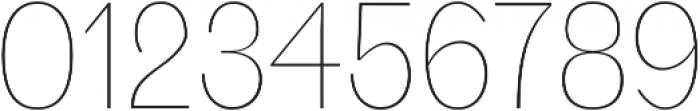 Deron Thin otf (100) Font OTHER CHARS