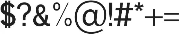 Deron otf (400) Font OTHER CHARS