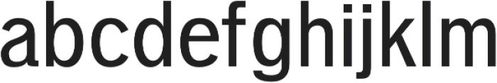 Deron otf (400) Font LOWERCASE