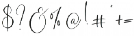 Desert Song otf (400) Font OTHER CHARS