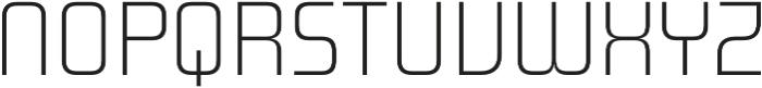 Design System A 100R otf (100) Font UPPERCASE