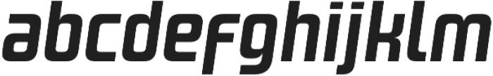 Design System A 700I otf (700) Font LOWERCASE