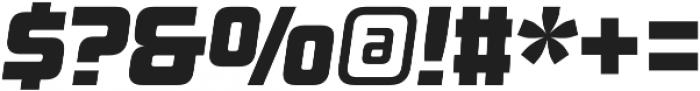 Design System A 900I otf (900) Font OTHER CHARS