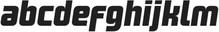 Design System A 900I otf (900) Font LOWERCASE