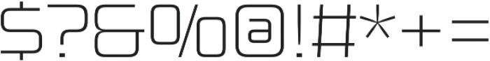 Design System B 100R otf (100) Font OTHER CHARS