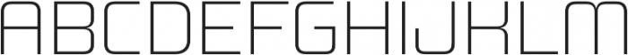 Design System B 100R otf (100) Font UPPERCASE