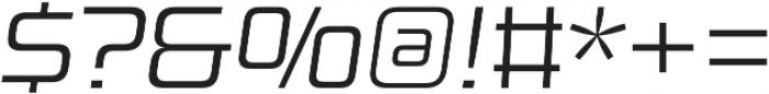 Design System B 300I otf (300) Font OTHER CHARS