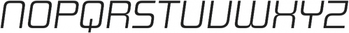 Design System B 300I otf (300) Font UPPERCASE
