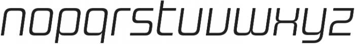 Design System B 300I otf (300) Font LOWERCASE