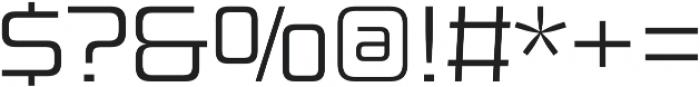 Design System B 300R otf (300) Font OTHER CHARS