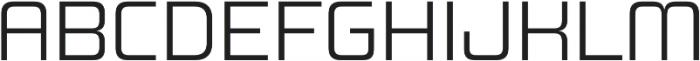 Design System B 300R otf (300) Font UPPERCASE