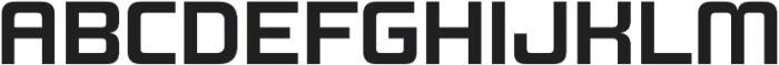 Design System B 700R otf (700) Font UPPERCASE