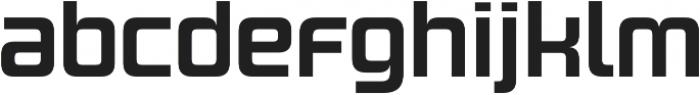 Design System B 700R otf (700) Font LOWERCASE