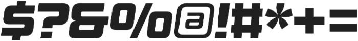 Design System B 900I otf (900) Font OTHER CHARS