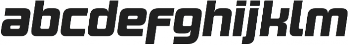 Design System B 900I otf (900) Font LOWERCASE