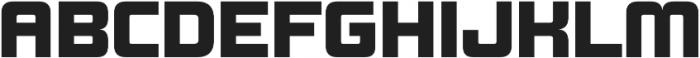 Design System B 900R otf (900) Font UPPERCASE