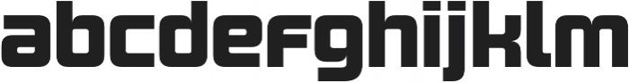 Design System B 900R otf (900) Font LOWERCASE