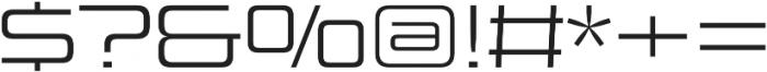 Design System C 300R otf (300) Font OTHER CHARS