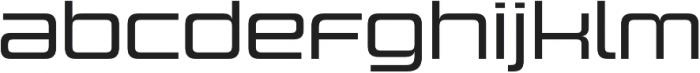 Design System C 500R otf (500) Font LOWERCASE