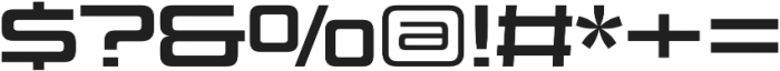 Design System C 700R otf (700) Font OTHER CHARS