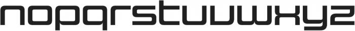 Design System C 700R otf (700) Font LOWERCASE