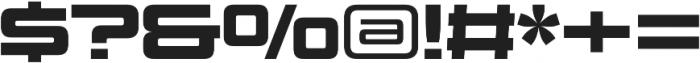 Design System C 900R otf (900) Font OTHER CHARS