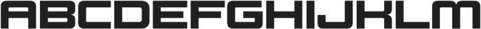 Design System C 900R otf (900) Font UPPERCASE