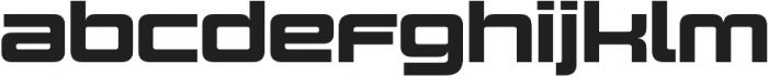 Design System C 900R otf (900) Font LOWERCASE