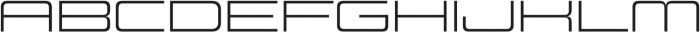 Design System D 300R otf (300) Font UPPERCASE