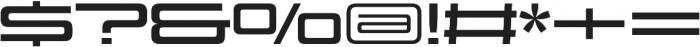 Design System D 700R otf (700) Font OTHER CHARS