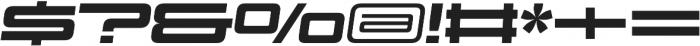 Design System D 900I otf (900) Font OTHER CHARS