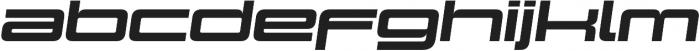 Design System D 900I otf (900) Font LOWERCASE