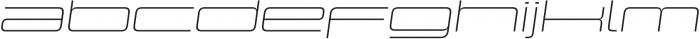 Design System E 100I otf (100) Font LOWERCASE