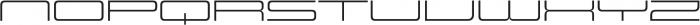 Design System E 300R otf (300) Font UPPERCASE