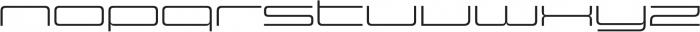 Design System E 300R otf (300) Font LOWERCASE