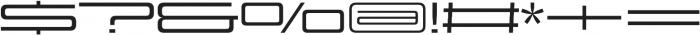 Design System E 500R otf (500) Font OTHER CHARS