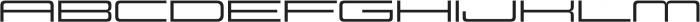 Design System E 500R otf (500) Font UPPERCASE
