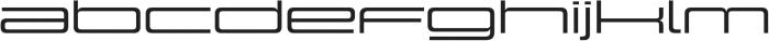 Design System E 500R otf (500) Font LOWERCASE
