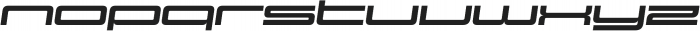 Design System E 900I otf (900) Font LOWERCASE