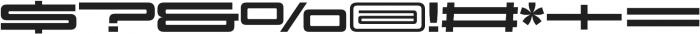 Design System E 900R otf (900) Font OTHER CHARS