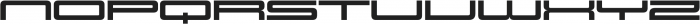 Design System E 900R otf (900) Font UPPERCASE
