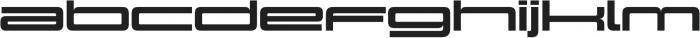 Design System E 900R otf (900) Font LOWERCASE