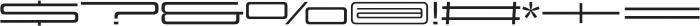 Design System F 500R otf (500) Font OTHER CHARS