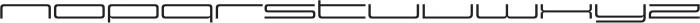 Design System F 500R otf (500) Font LOWERCASE