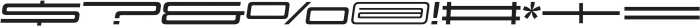 Design System F 700I otf (700) Font OTHER CHARS