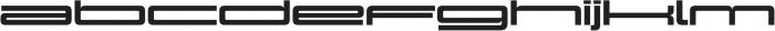 Design System F 900R otf (900) Font LOWERCASE