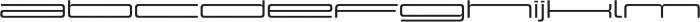 Design System G 500R otf (500) Font LOWERCASE
