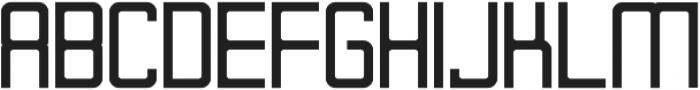 Designer otf (700) Font UPPERCASE