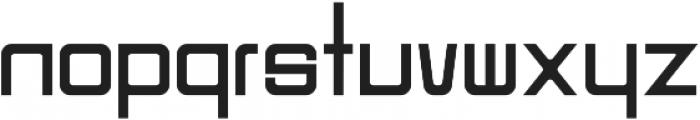 Designer otf (700) Font LOWERCASE